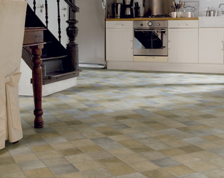 Only A Few Years Ago Most People Thought Of Vinyl Flooring For Kitchens And  Bathrooms Only. Today, Vinyl Flooring Is So Versatile That It Can Be Used  In ...